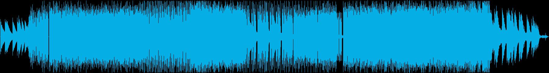 クールでかっこいいローファイヒップホップの再生済みの波形