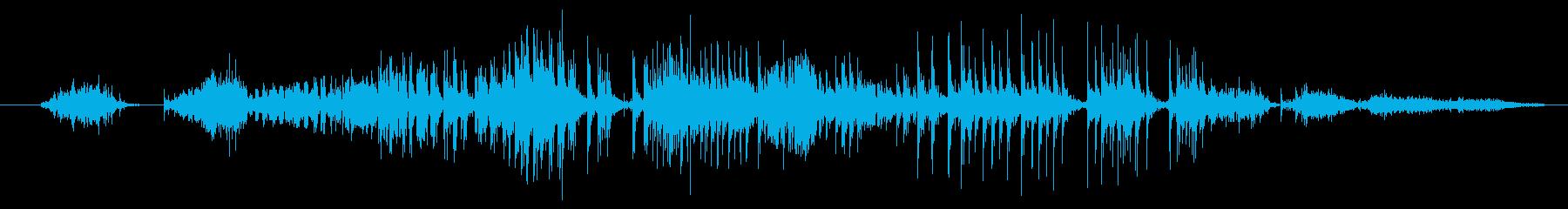 厚紙:低速摩擦摩擦きしみ音またはベンドの再生済みの波形