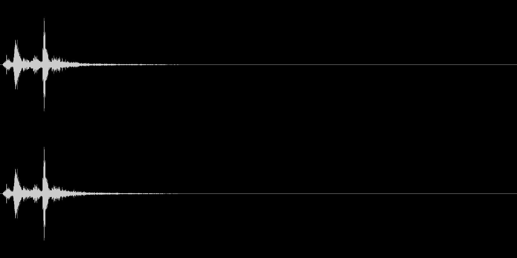 【生録音】神楽鈴「シャンシャン」の未再生の波形