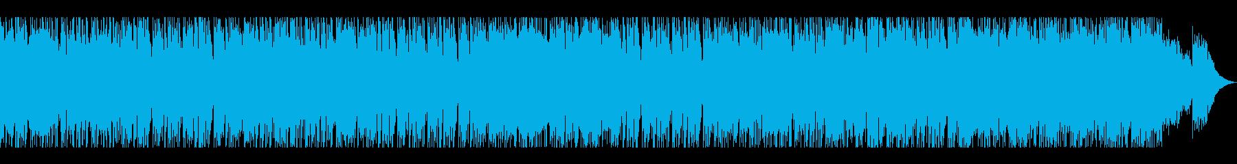 ソウルフルなダンスフロアの再生済みの波形