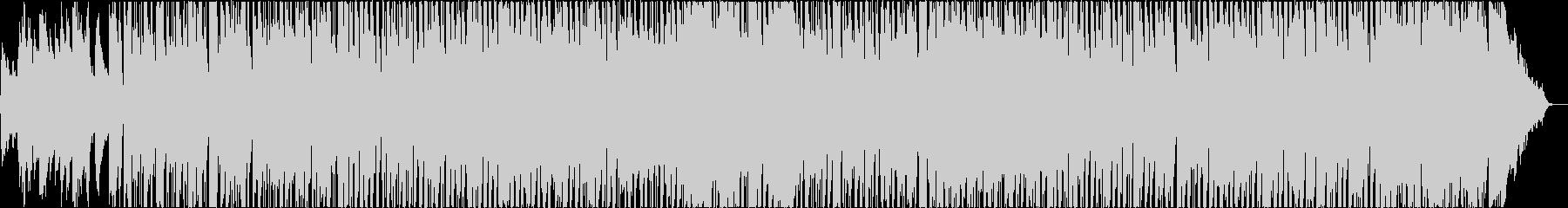 アンニュイな雰囲気のフレンチボサ2の未再生の波形