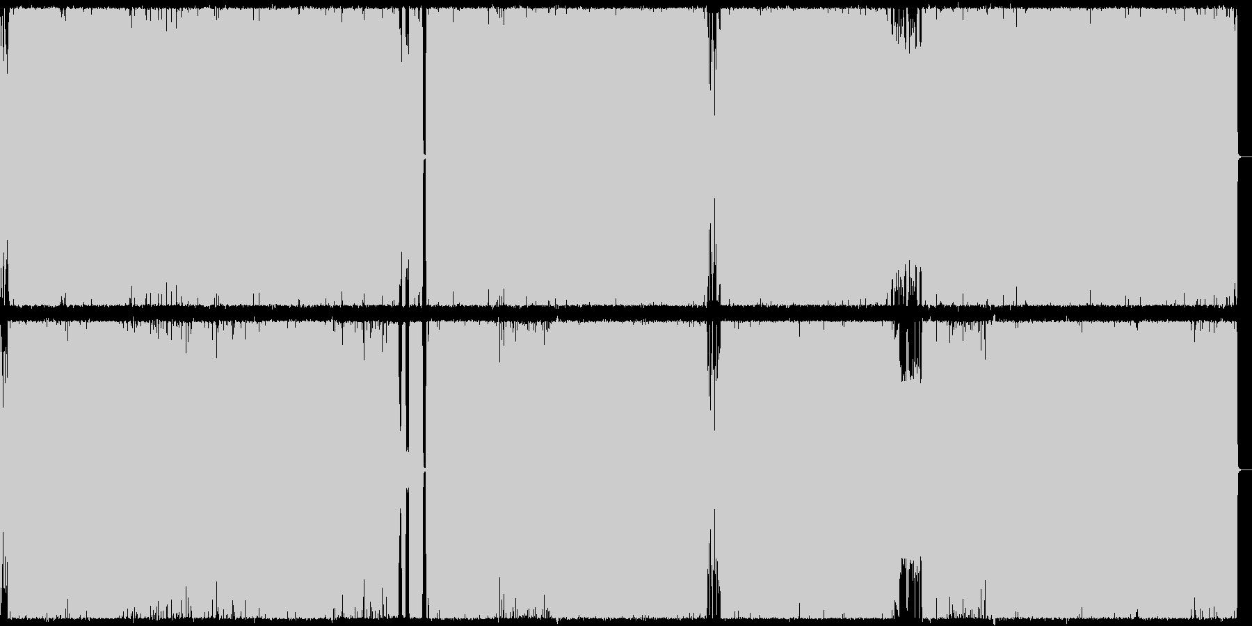 王道メタル2 往年のツーバスHR/HMの未再生の波形