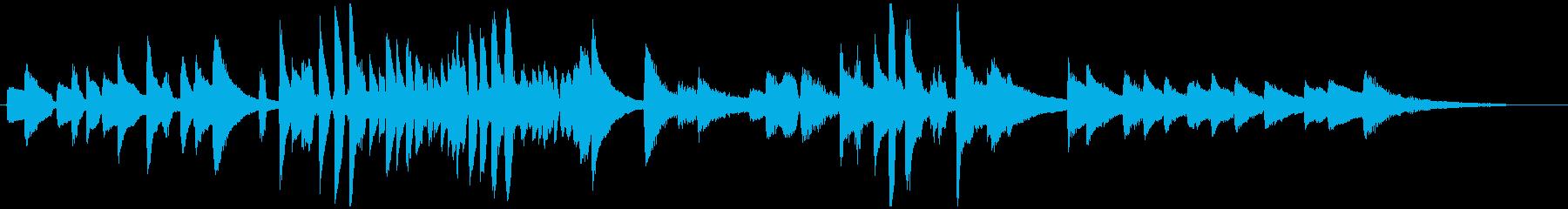 古典的なラウンジジャズピアノの再生済みの波形