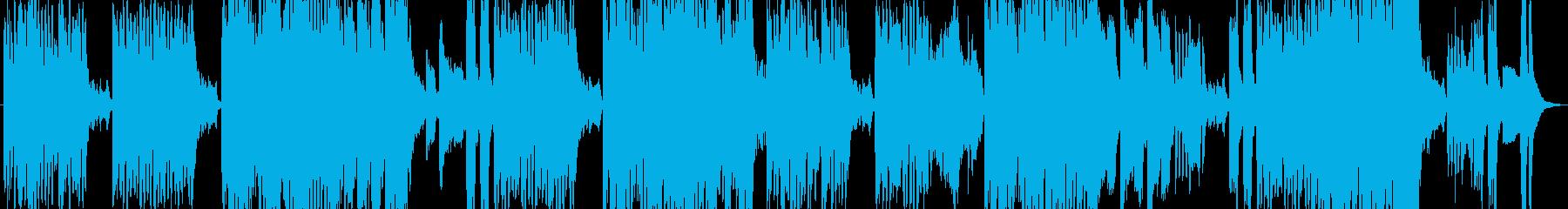 明るく高揚感のあるコミカルサウンドの再生済みの波形