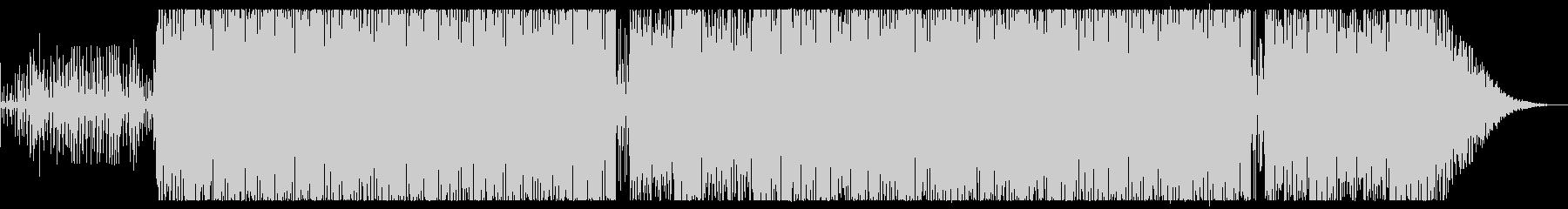 トランス調BGMの未再生の波形