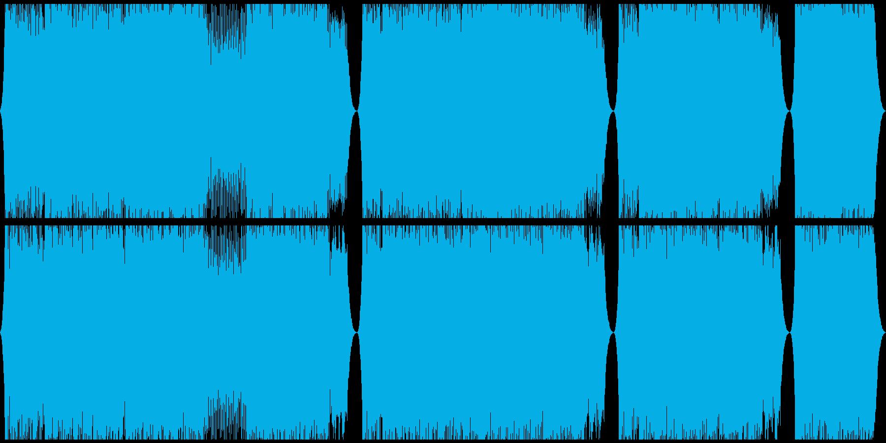 実験的な 未来 テクノロジー コー...の再生済みの波形