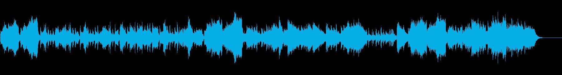 不思議なクリスマス BGMの再生済みの波形