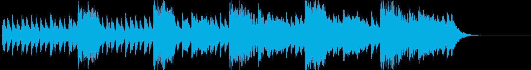 チェレスタで奏でるスリリングなサウンドの再生済みの波形