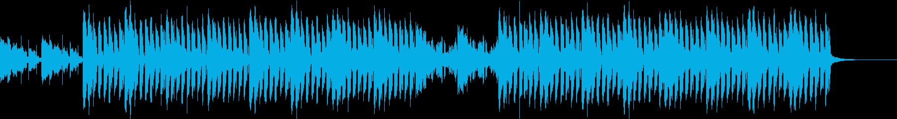 おしゃれ・クール・EDMの再生済みの波形