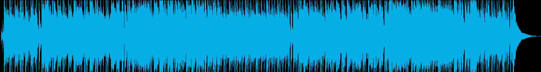 童謡「もみじ」ポップスアレンジの再生済みの波形