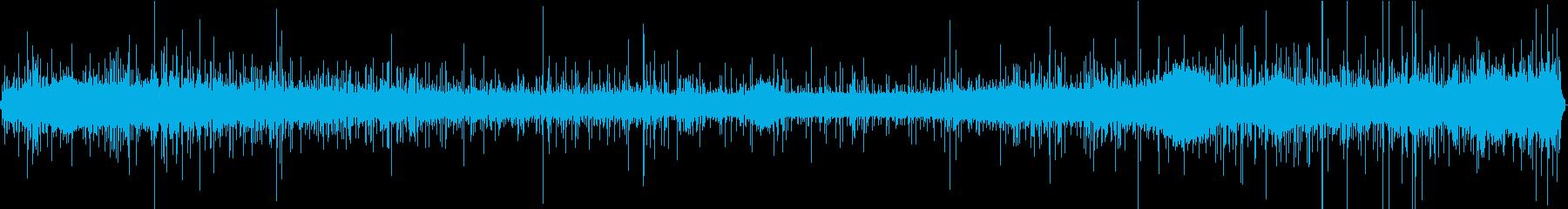 【生録音】美しい雨の音 1の再生済みの波形