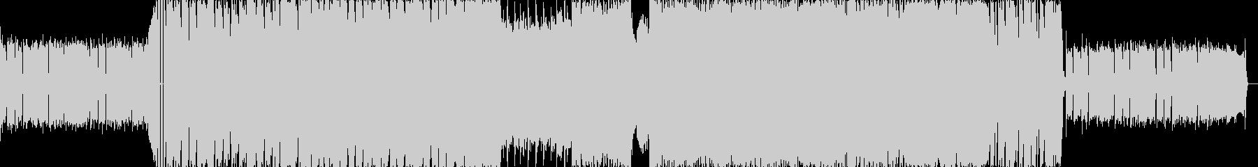 スクラッチミクスチャーラウドロックBの未再生の波形