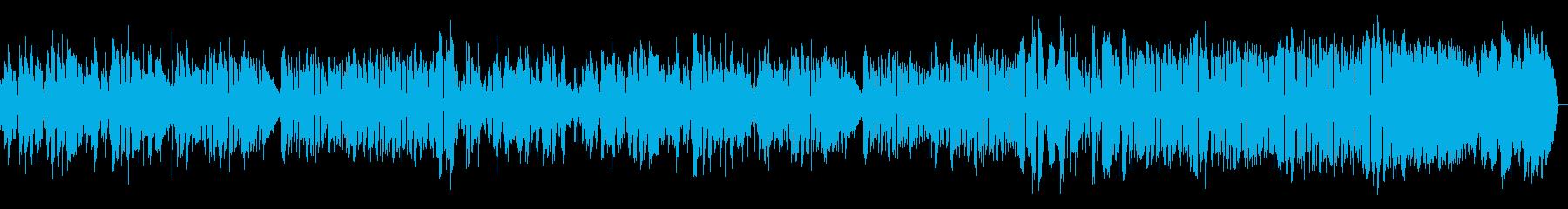 少しだけ悲しいボサノバの再生済みの波形