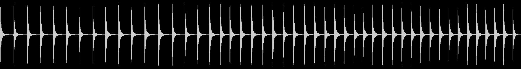 多くの連続した金属スズヒット、安定...の未再生の波形