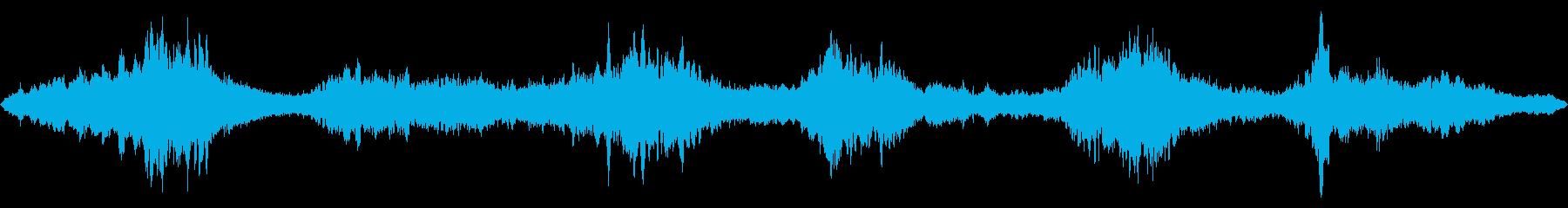 予感の深いゆっくりとした回転、全体...の再生済みの波形