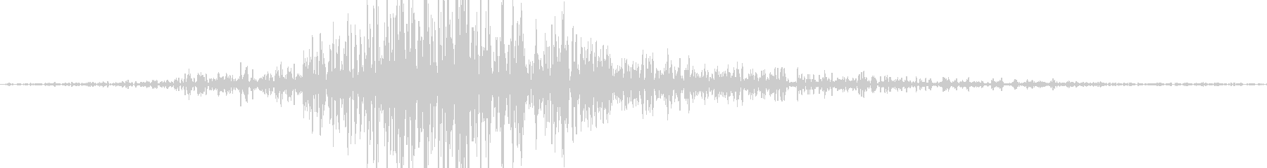 ヒュン 風切り音 スイング音  (高め)の未再生の波形