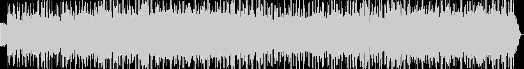 オールドROCKテイスト荒野が似合う曲の未再生の波形
