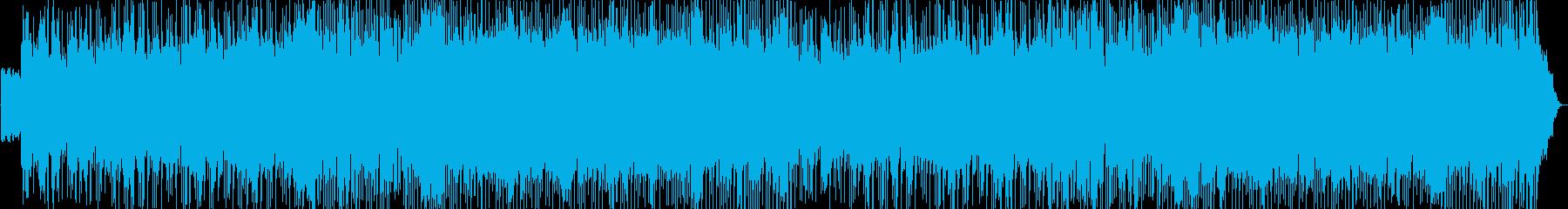 オールドROCKテイスト荒野が似合う曲の再生済みの波形