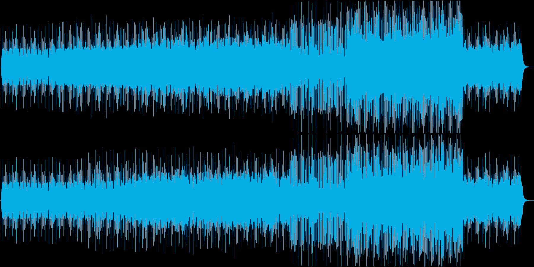 春をイメージしたエレクトロインストの再生済みの波形