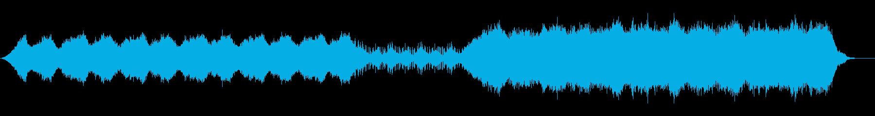 海底をイメージした壮大なコーラスの楽曲の再生済みの波形