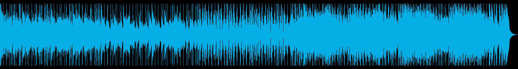 爽やか。日常。歌モノポップスのオケ。の再生済みの波形