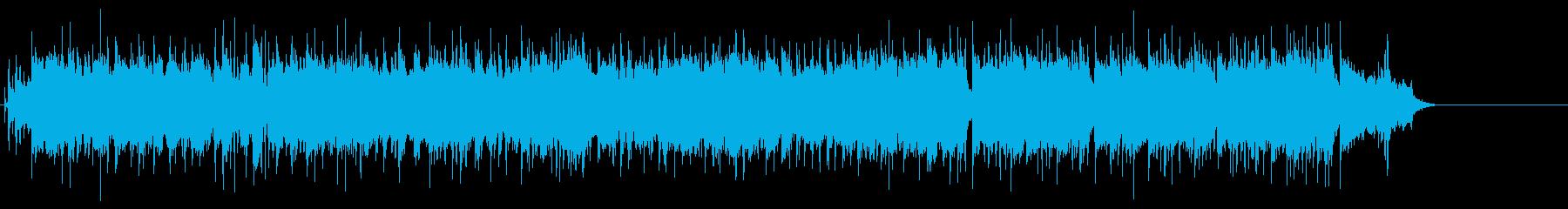 若者達のハートフルなロックポップの再生済みの波形