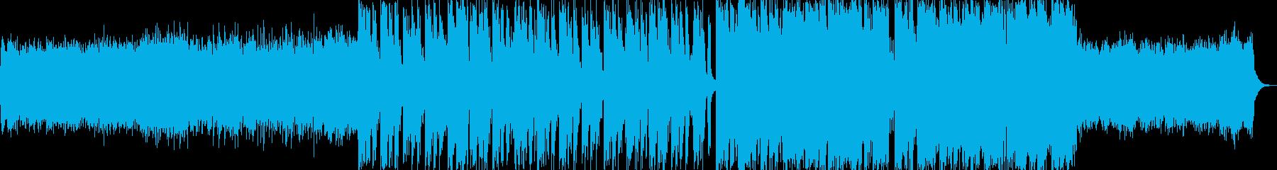ワクワクと哀愁のアコギシンセポップの再生済みの波形