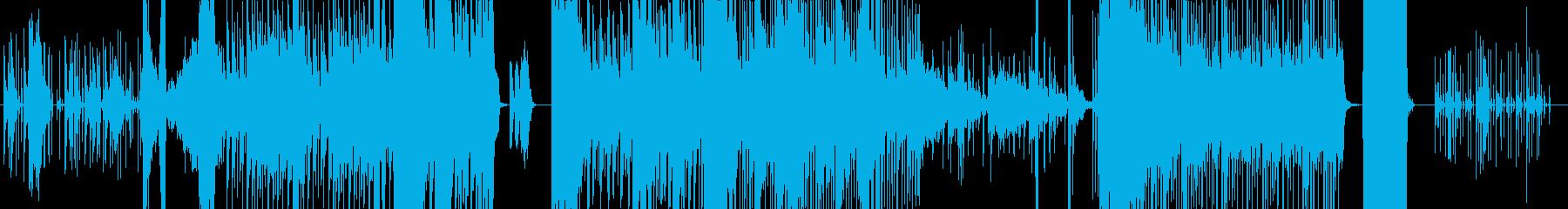 コメディのサスペンス設定での気まぐ...の再生済みの波形