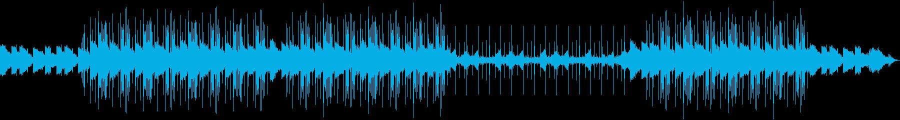 落ち着くLo-Fi HipHopのBGMの再生済みの波形