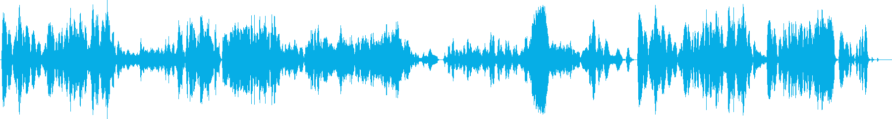 ファンタジーなバイオリンサウンドの再生済みの波形