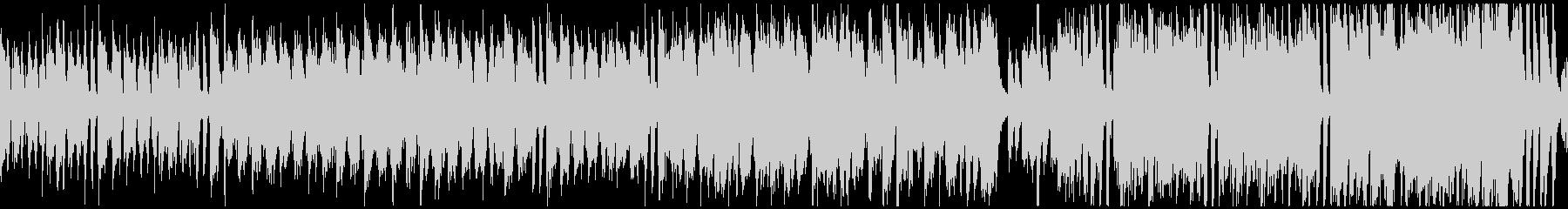 楽しいトラッド日常曲(ループ)の未再生の波形