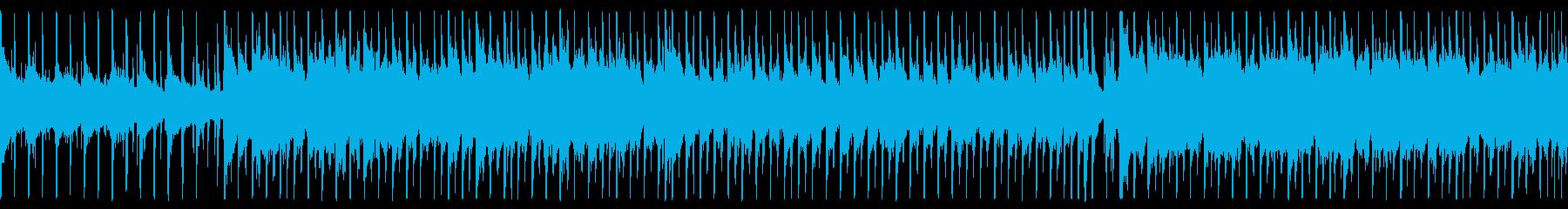 ループ済アコギがメインのカントリーPOPの再生済みの波形