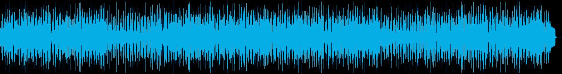 アニメゲームなどで使いやすい可愛い日常曲の再生済みの波形