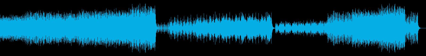 可愛く壮大なオーケストラ楽曲の再生済みの波形