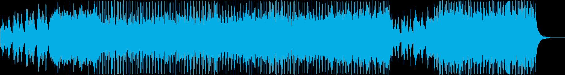 ポップ 技術的な 繰り返しの お洒...の再生済みの波形