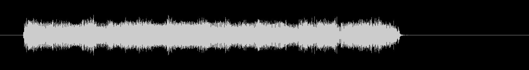 ウキウキするカントリー音楽スタート  の未再生の波形