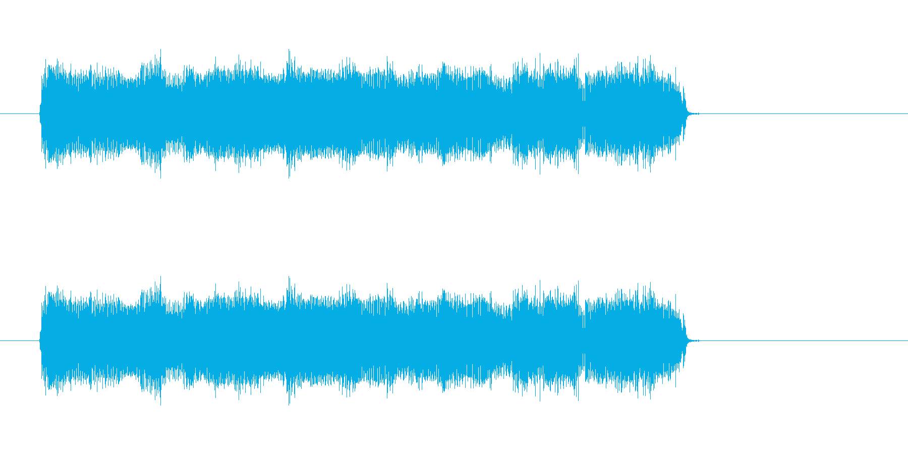 ウキウキするカントリー音楽スタート  の再生済みの波形