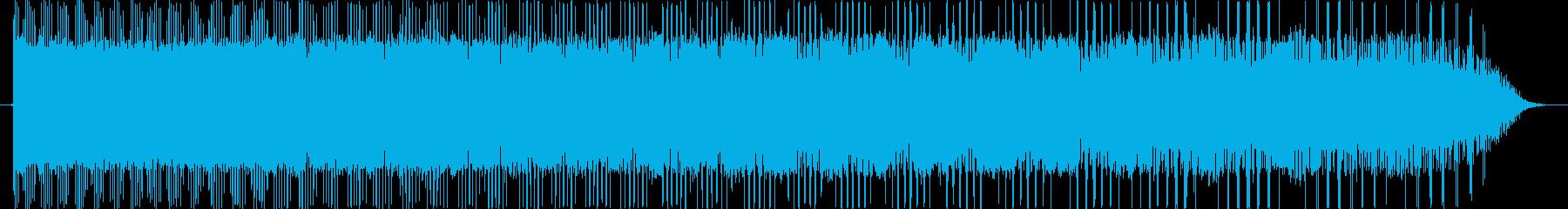 レトロなピューン ひゅーん ぴゅん 下降の再生済みの波形