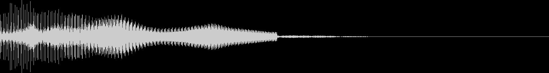 恐怖演出(ホラゲー・ノイズ有り)2の未再生の波形