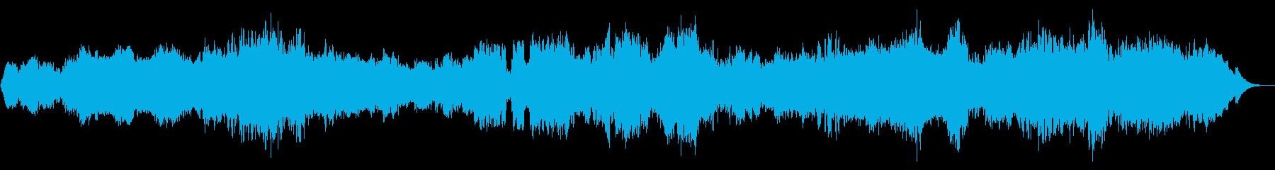 深層まで染み込む癒し系BGM-自然音ナシの再生済みの波形