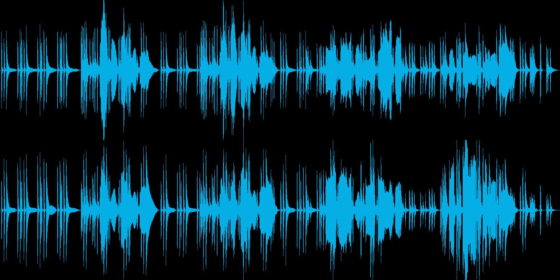 【劇伴】すっとぼけ_コミカルの再生済みの波形