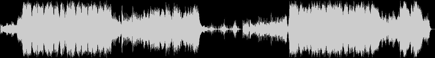 ファンタジー系ゲーム音楽 オープニング の未再生の波形
