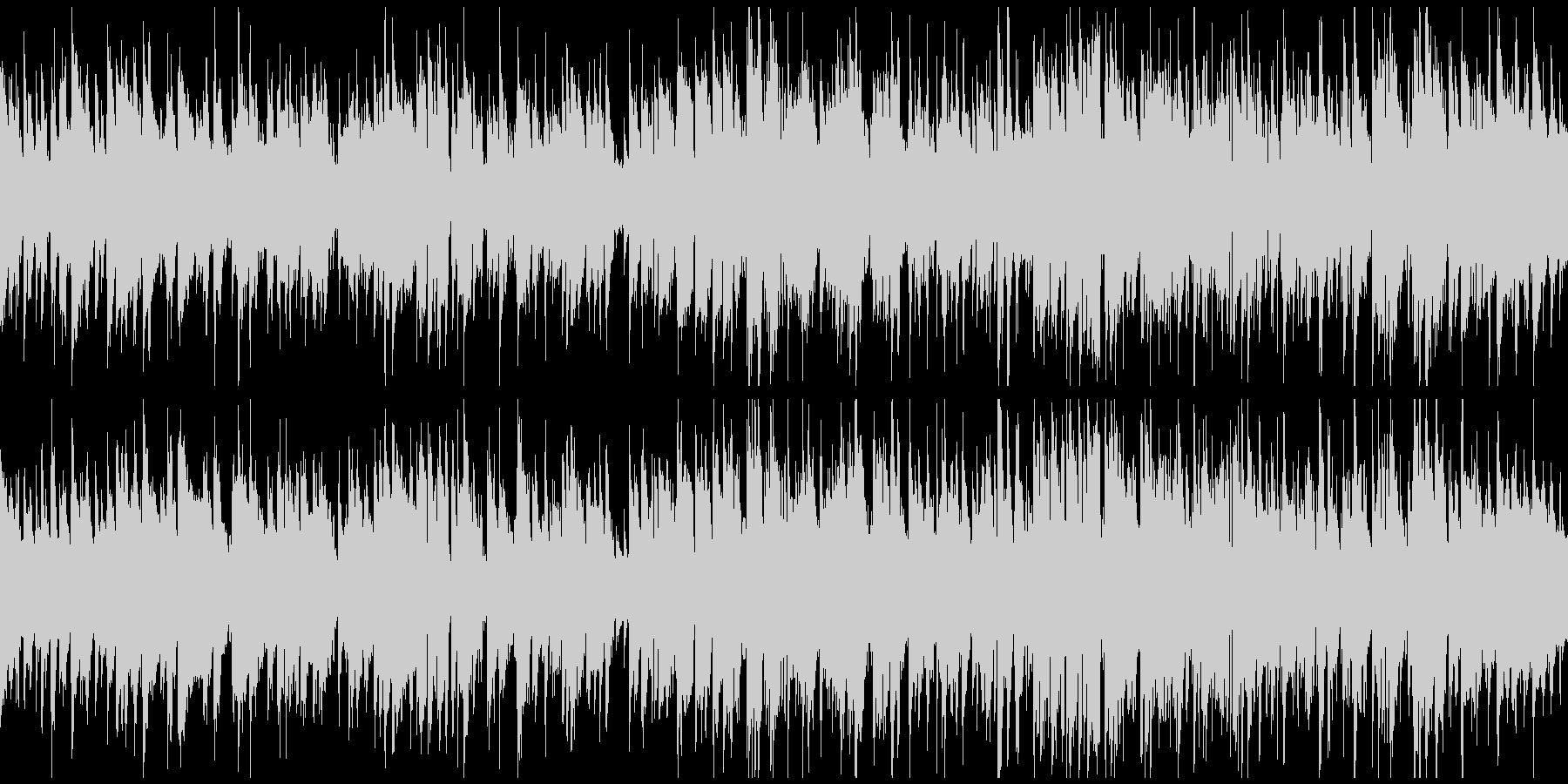 メロディアスなジャズワルツ ※ループ版の未再生の波形
