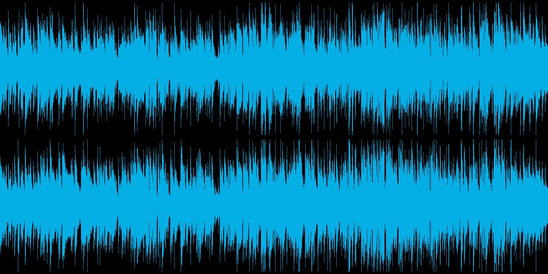 メロディアスなジャズワルツ ※ループ版の再生済みの波形