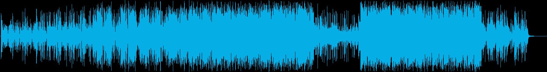 無機質で都会的!ピアノエレクトロニカの再生済みの波形