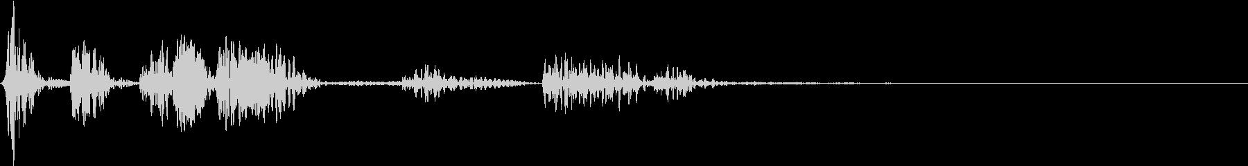 【グリッチ】 FX_07 ピュッツツッの未再生の波形