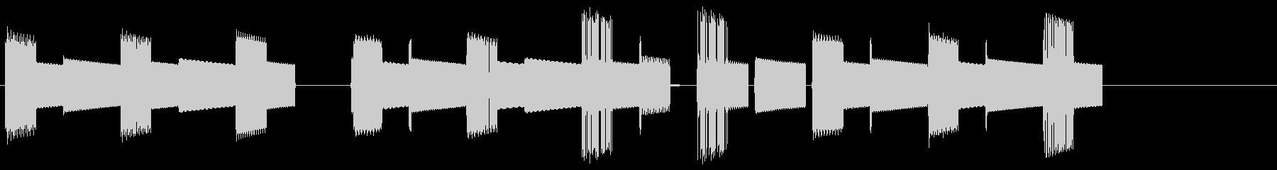 8bit場面転換効果メロディ1の未再生の波形