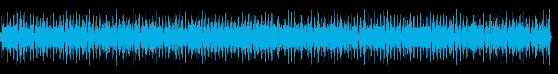 ほのぼの脱力系「ジ・エンターテイナー」の再生済みの波形