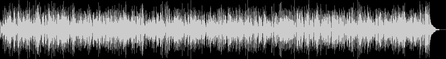 クラリネットの王道ジャズコンボスタイルの未再生の波形