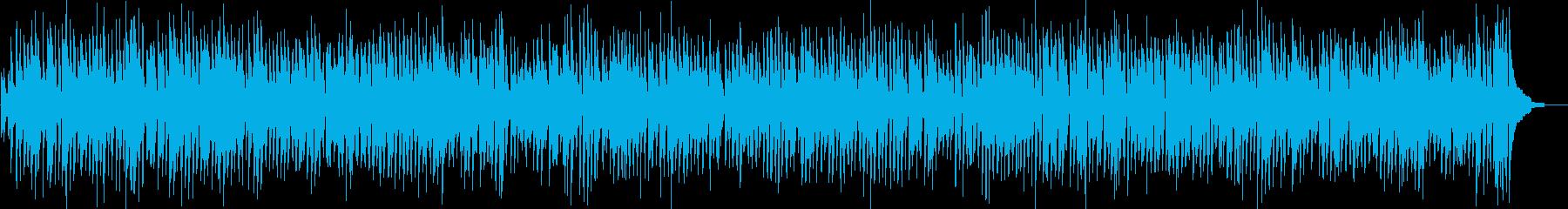 クラリネットの王道ジャズコンボスタイルの再生済みの波形